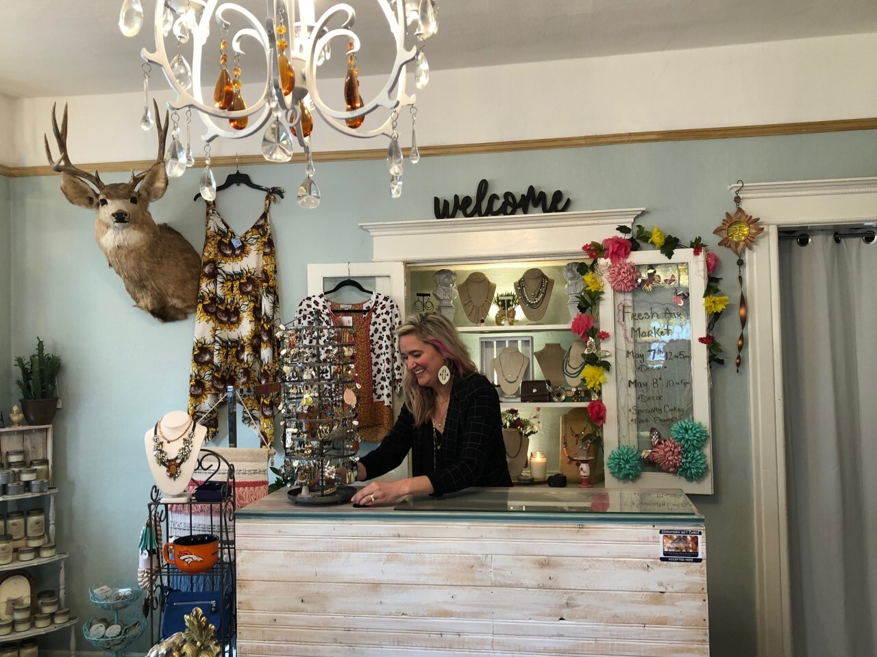 Ashley Gillit at her store