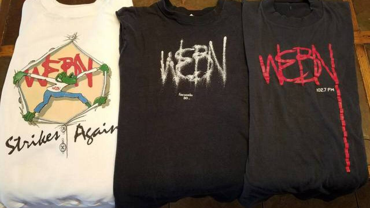 Remember This: For decades, WEBN ruled this town, and its popular T-shirts were must-have apparel