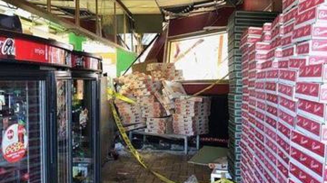 Vehicle strikes Picasso's, restaurant now closed