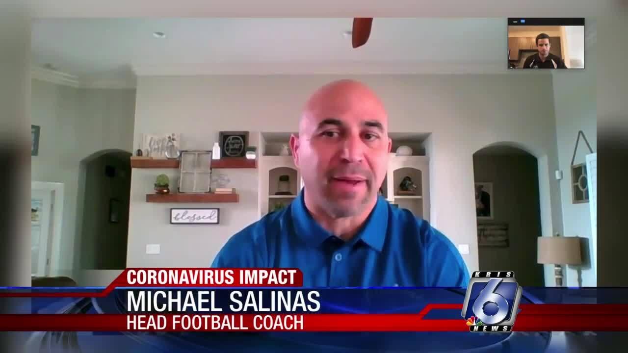 New Texas A&M-Kingsville coach Michael Salinas