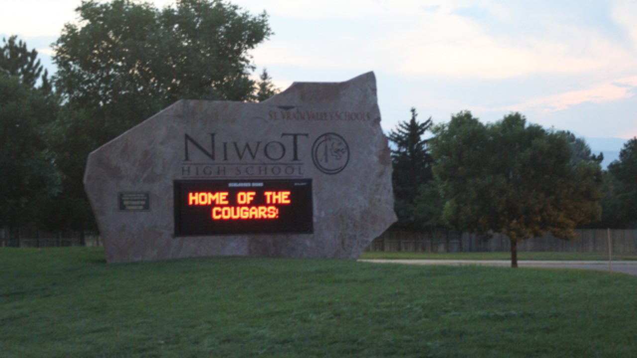 Niwot High School on lockdown