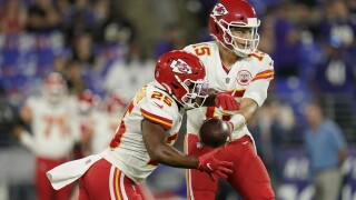 Patrick Mahomes, Clyde Edwards-Helaire, Week 2