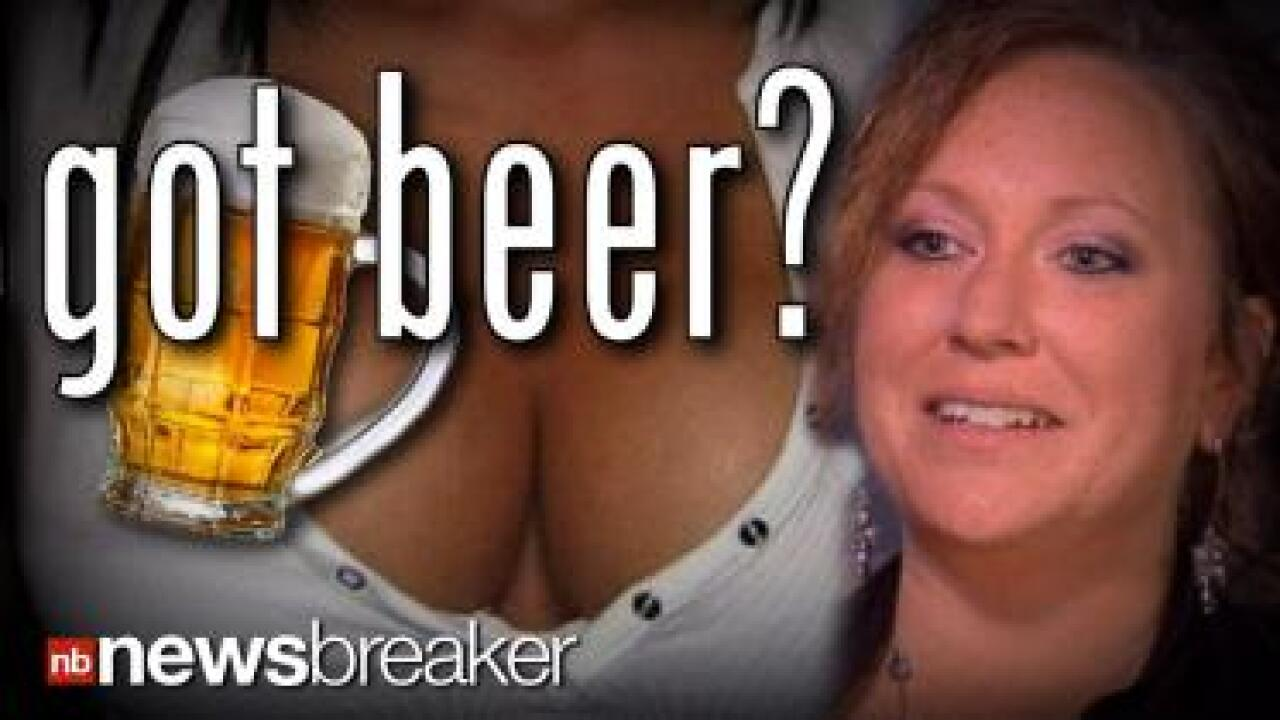 Mom jailed for drinking beer while breastfeeding, waitress fired