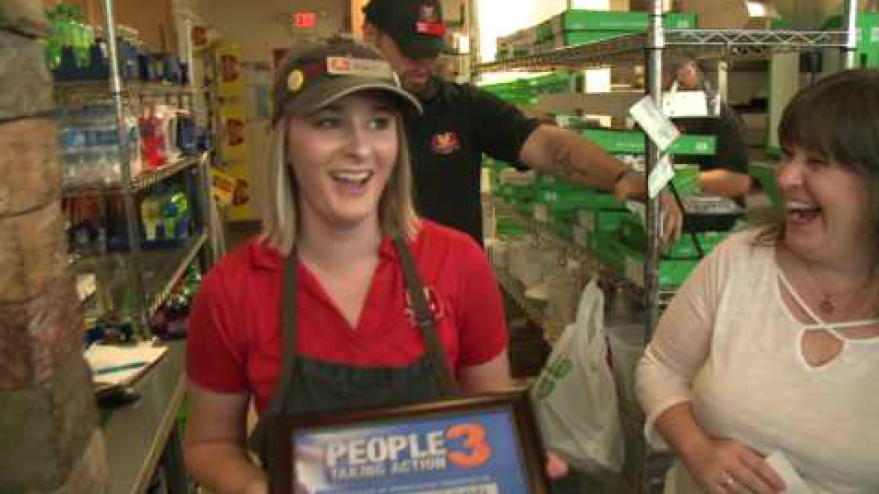 People Taking Action: Young Virginia Beach pizza shop manager, full-time student finds time to take action!