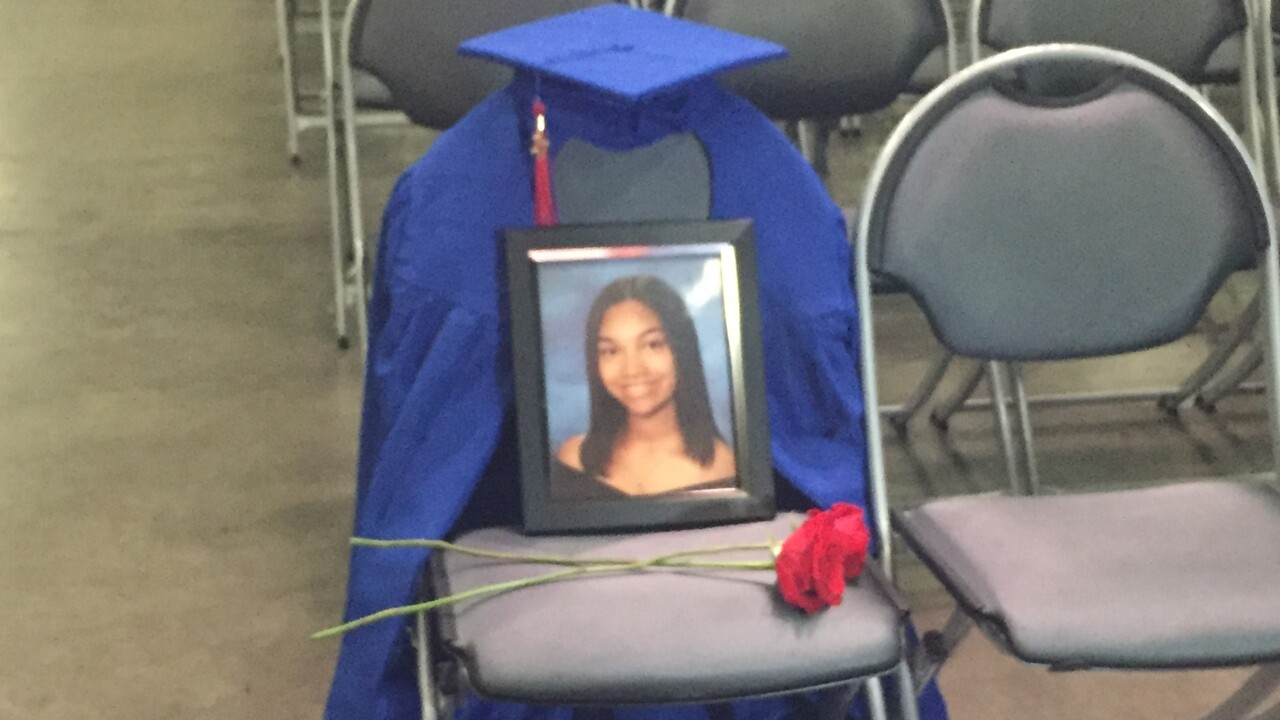 Virginia Beach high school senior killed in shooting honored at graduation