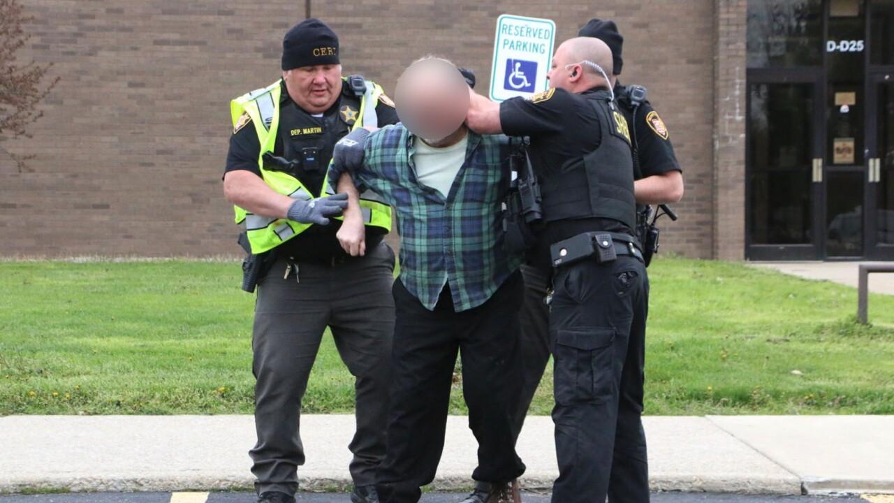 West Holmes mock dui crash arrest