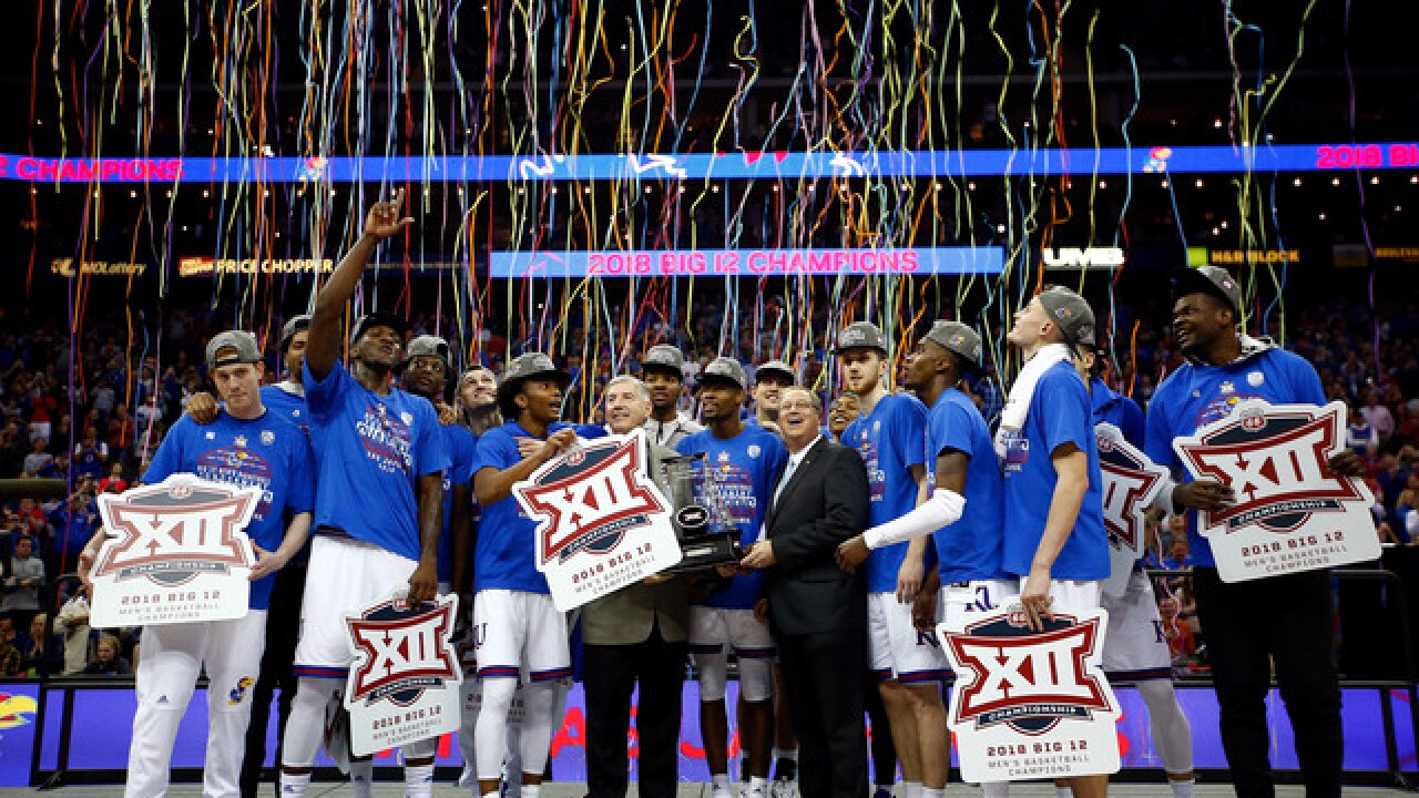 Kansas takes Big 12 crown again