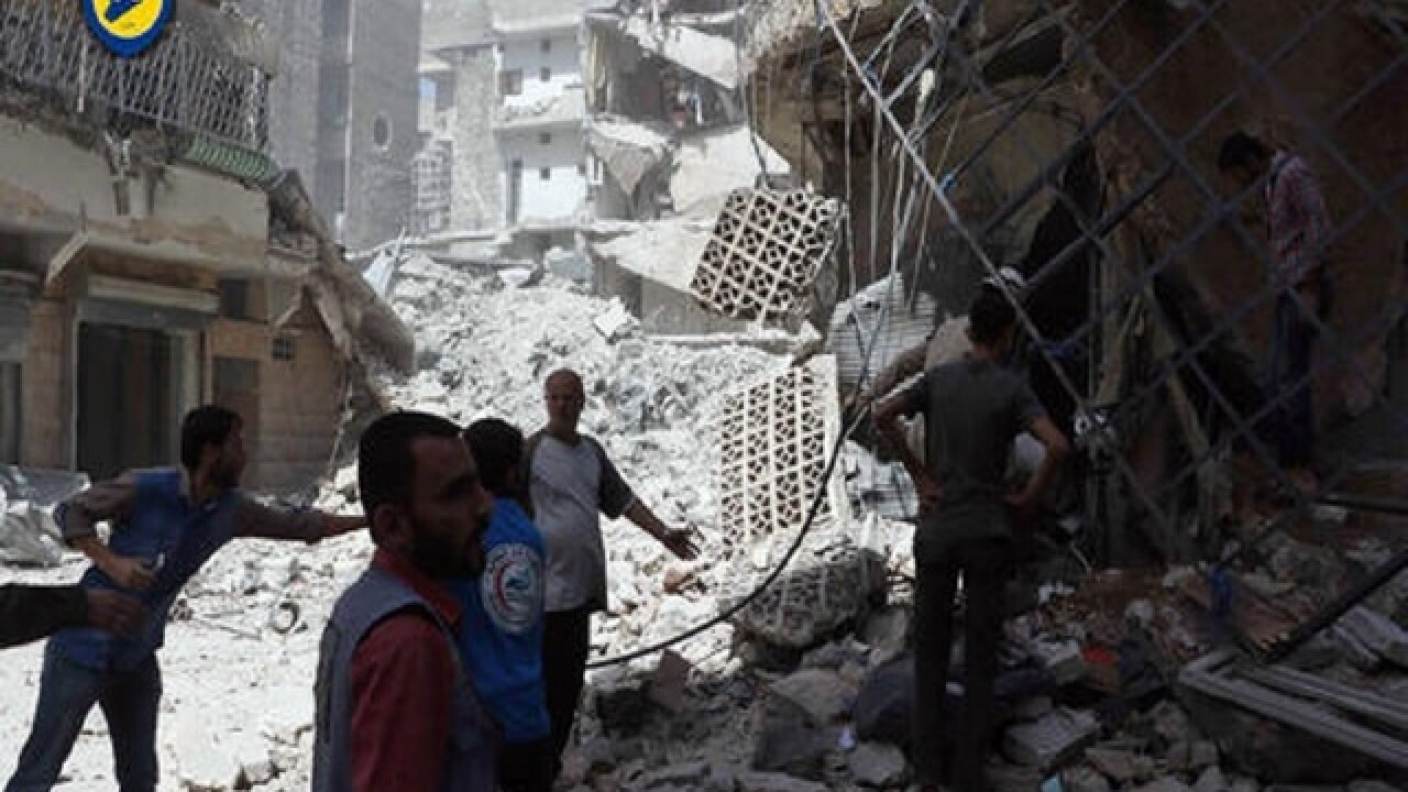 Airstrikes in Syria's Aleppo and shelling in south kill 20