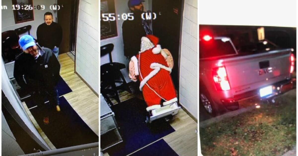 Stolen Santa returned to Grand Haven Eagles club