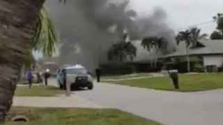 Fire breaks out at Cape Coral home