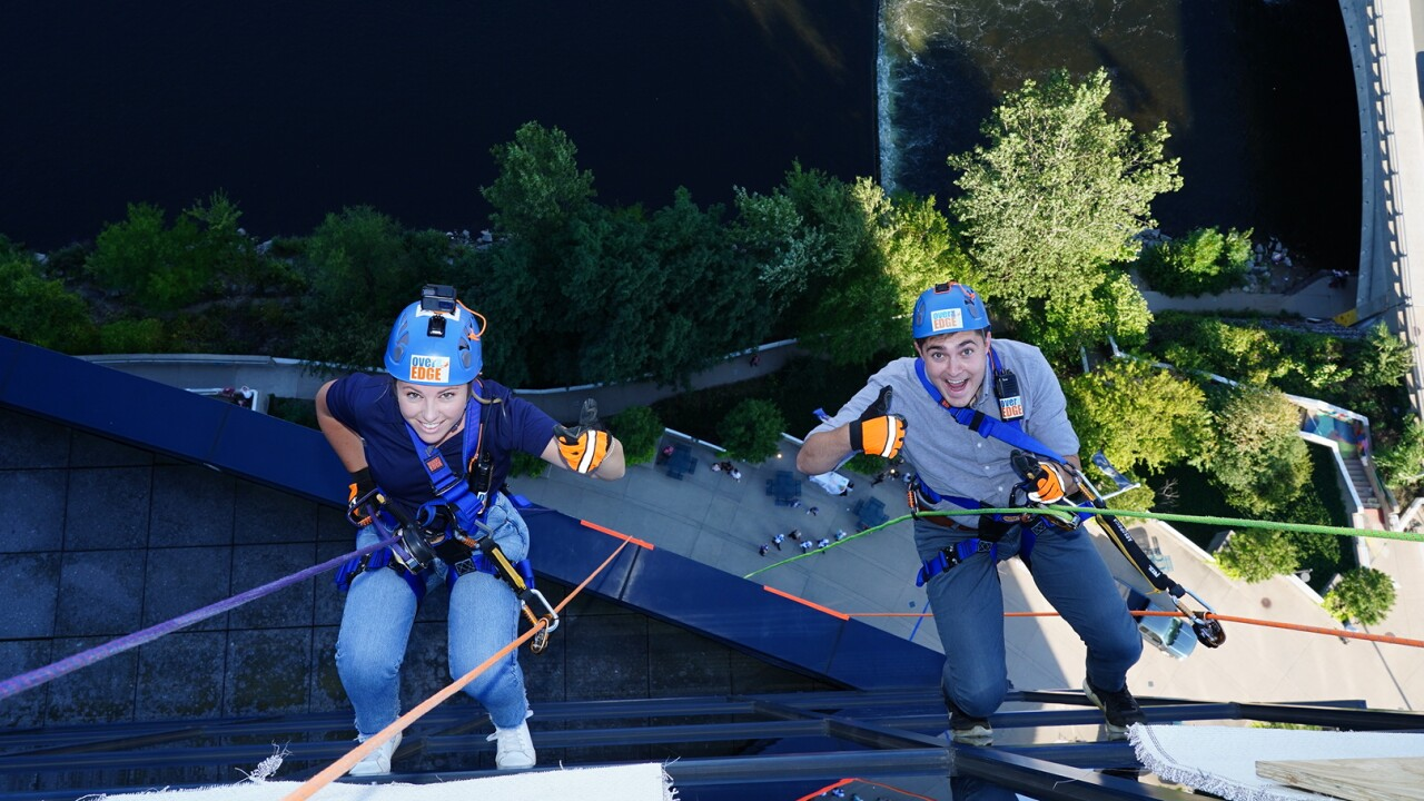 Over the Edge Event for Easterseals West Michigan