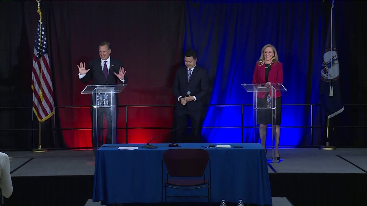 Where Brat and Spanberger differ on immigration and healthcare