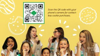 Thursday is the big day it's the first official day the Girl Scouts start selling their tasty cookies.