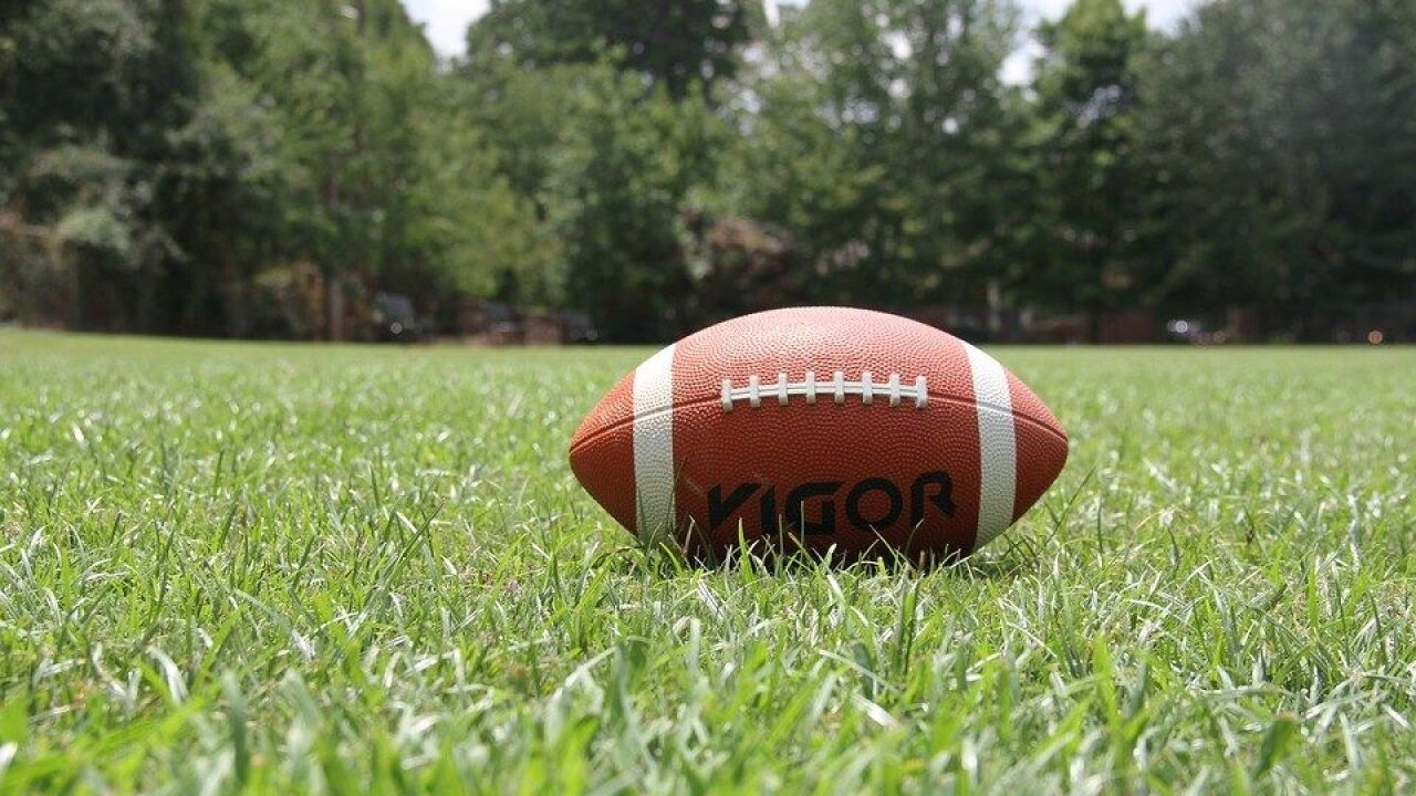 Some high school football games postponed due to weather