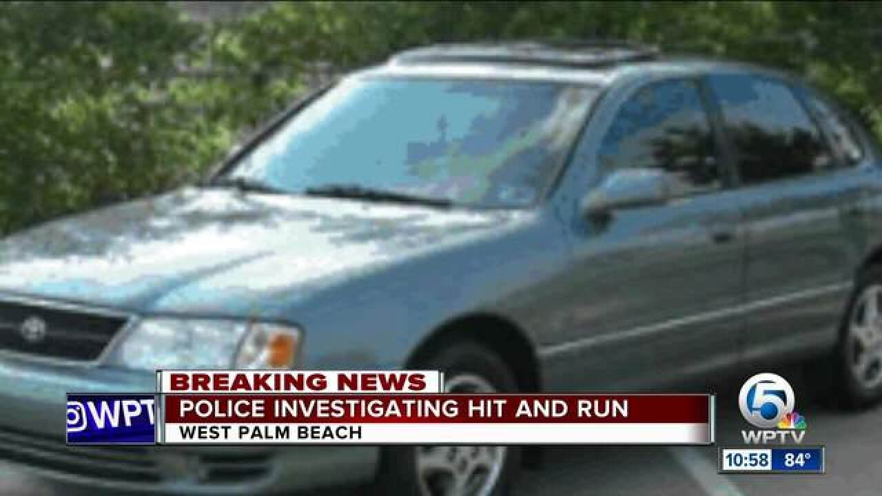 Driver Sought After Deadly Hit And Run Crash In West Palm