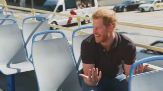 Prince Harry interview with James Corden