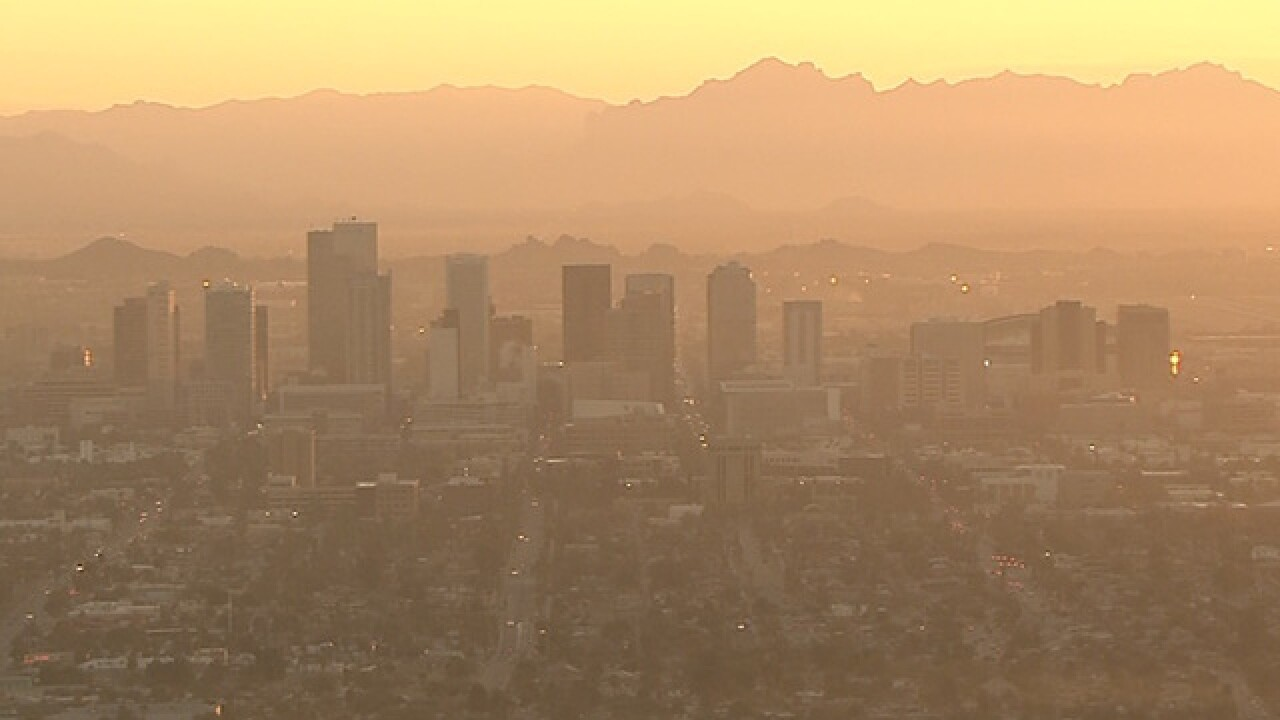 Dirty air prompts no-burn restriction across PHX