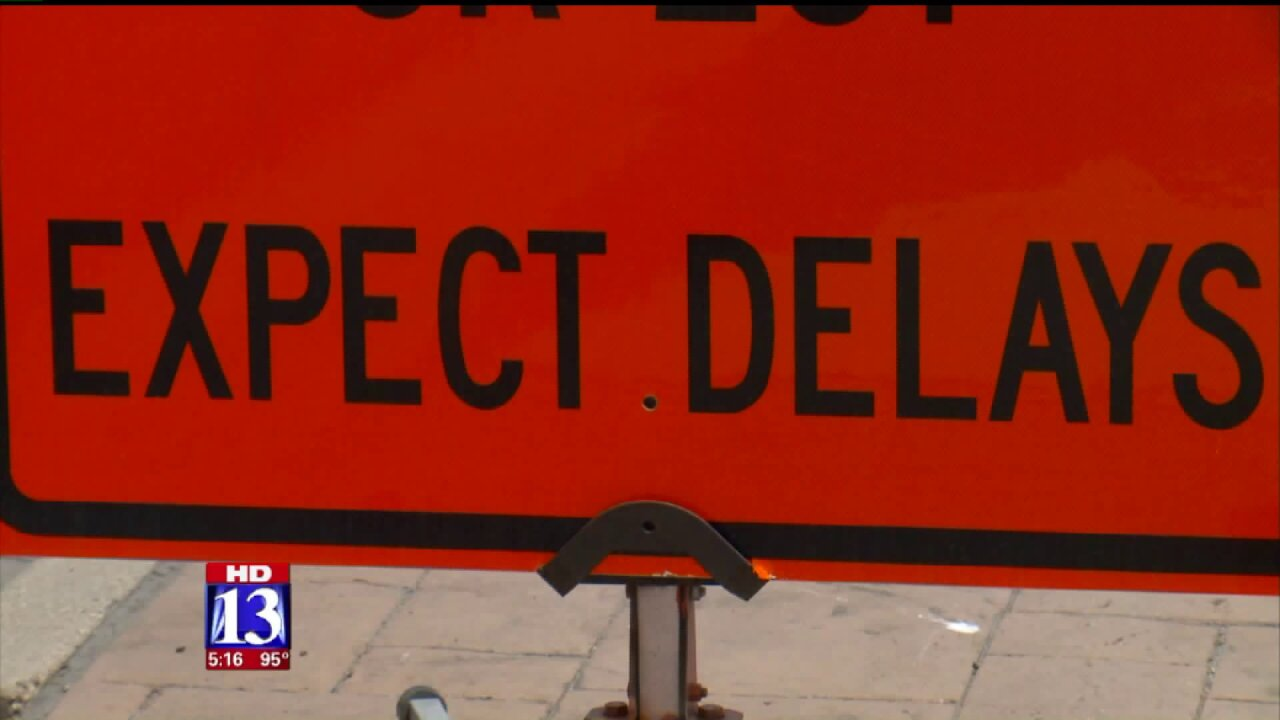 UDOT projects to cause road closures in northern Utah this weekend
