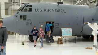 """MT Air National Guard hosts """"Operation Open Hangar"""" for high school students"""