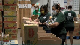Free food delivery to homebound residents