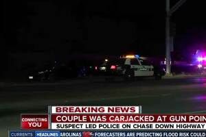 Double carjacking leads to police chase on the 99 freeway