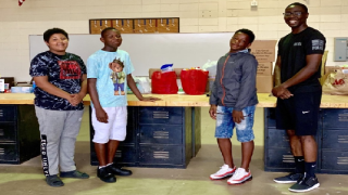 Local middle schoolers coordinate supply drive for people of the Bahamas.png