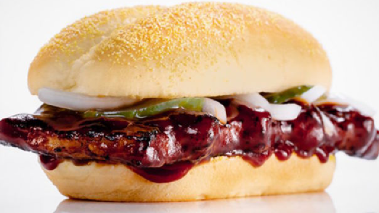 McDonald's McRib sandwich is back for a limited time