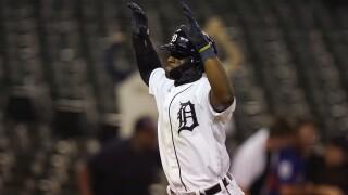 Daz Cameron First MLB Home Run