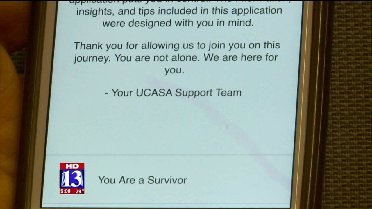 New first of its kind mobile app in Utah aims to help victims of sexual assault