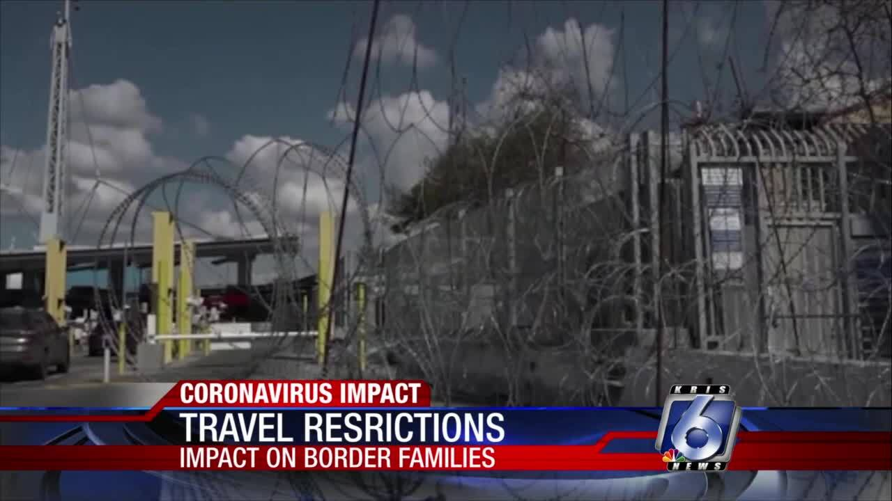 U.S. Border Patrol and Customs lists travel restrictions to Mexico