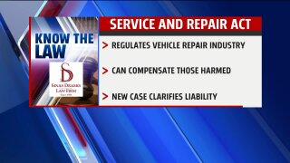 Know the Law – Motor Vehicle Service and RepairAct