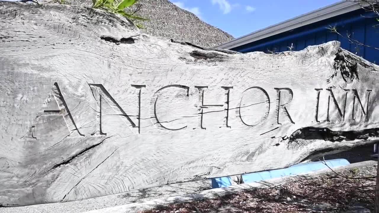 Anchor Inn sign