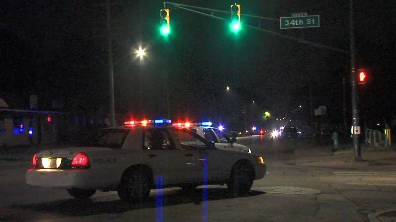Indy Police Search For Person Who Shot Police Car During Chase