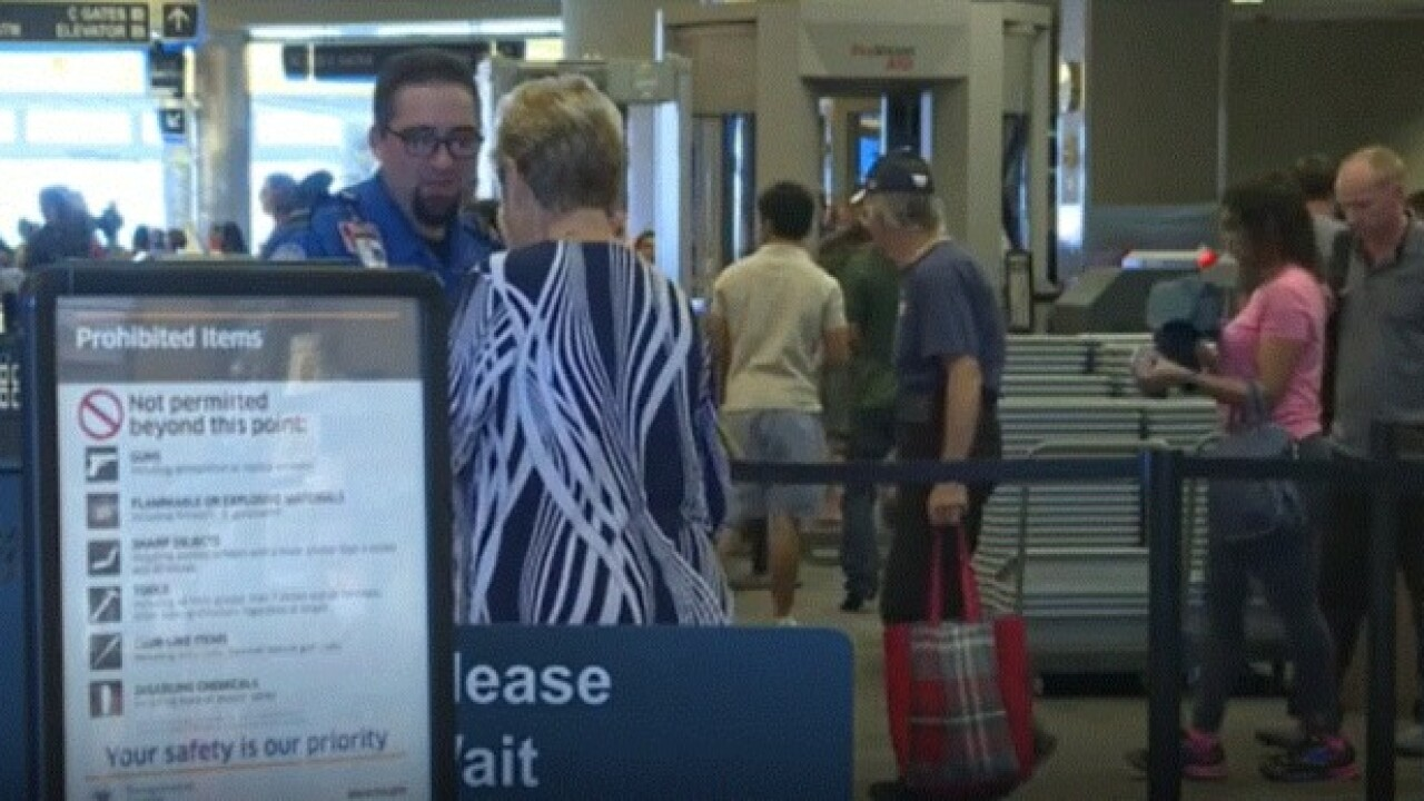 Boise Airport expects record number of holiday travelers