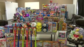 Portage Sheriff's Office raises money for hospital patients