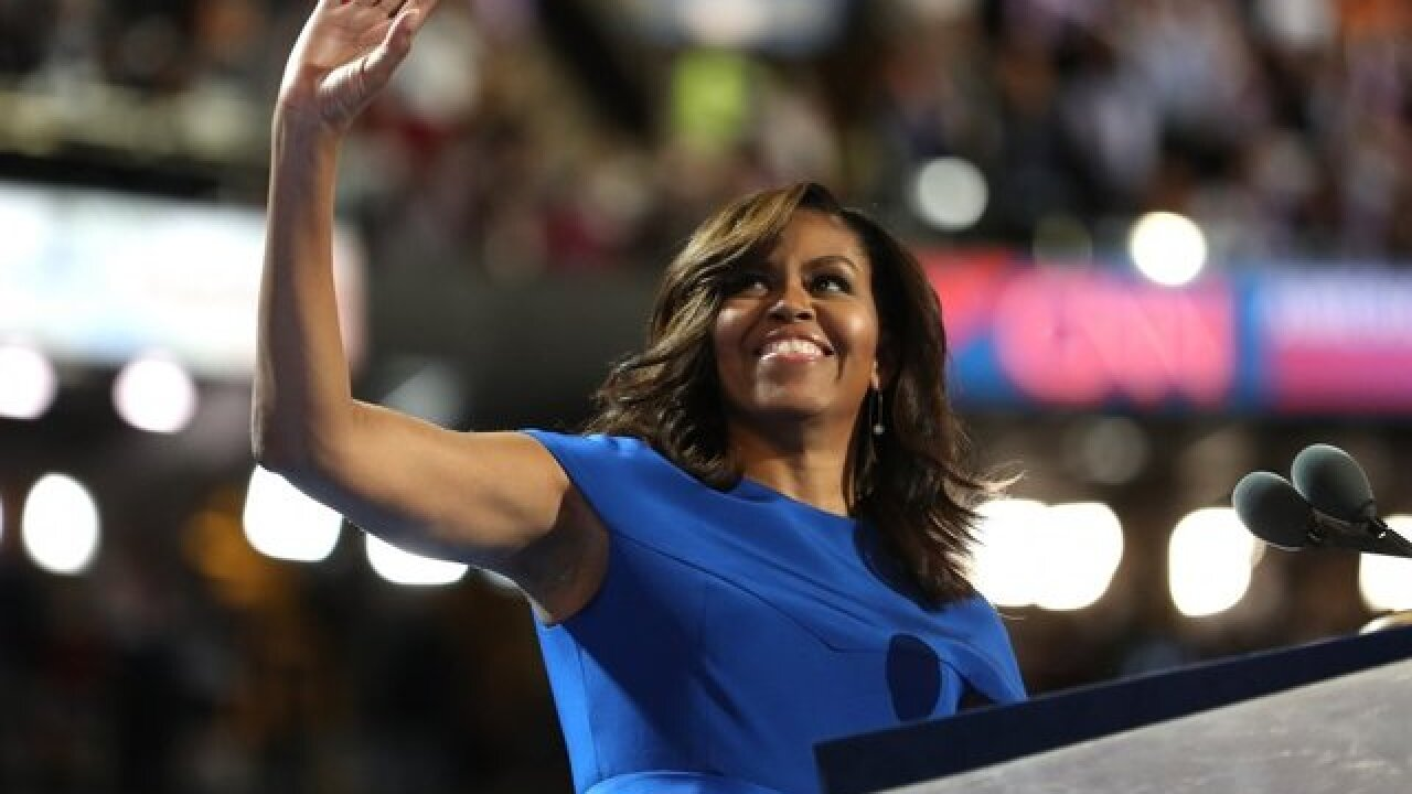 Michelle Obama says Melania Trump turned down her offer of help