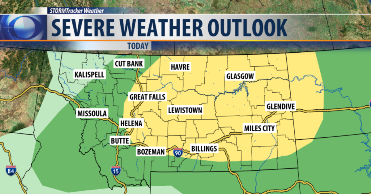 Severe weather expected over the weekend