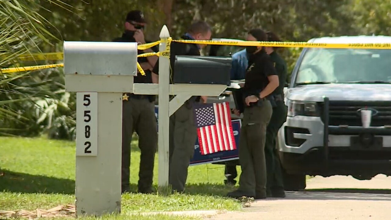 The Martin County Sheriff's Office investigates two bodies found inside a home in Port Salerno on Aug. 28, 2020.