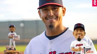 The Carlos Carrasco Boblehead
