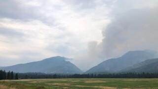 Thore Creek Fire