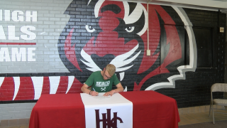 Trysten Brewer inks LOI to run track, cross country for Montana Tech