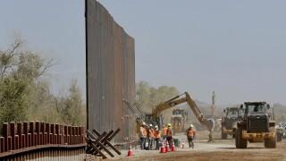 US Border Wall Yuma