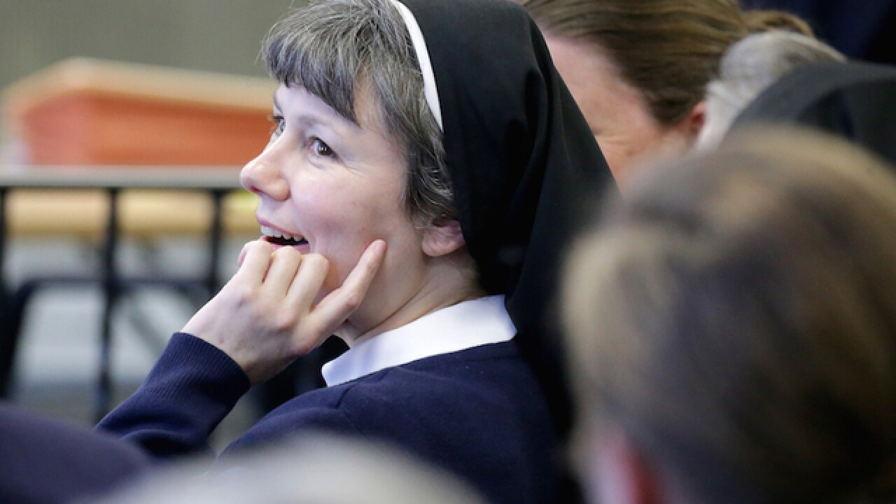Philadelphia nun in court on DUI charge