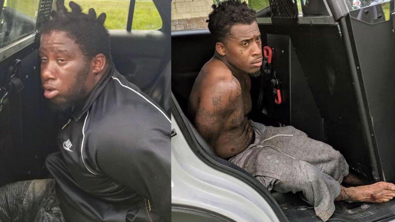 Burglary suspects arrested Saturday in Martin County.
