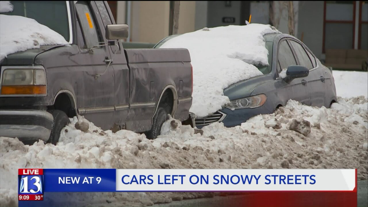 From ticketing to towing, parking curbside in some Utah cities during snowstorms could cost you