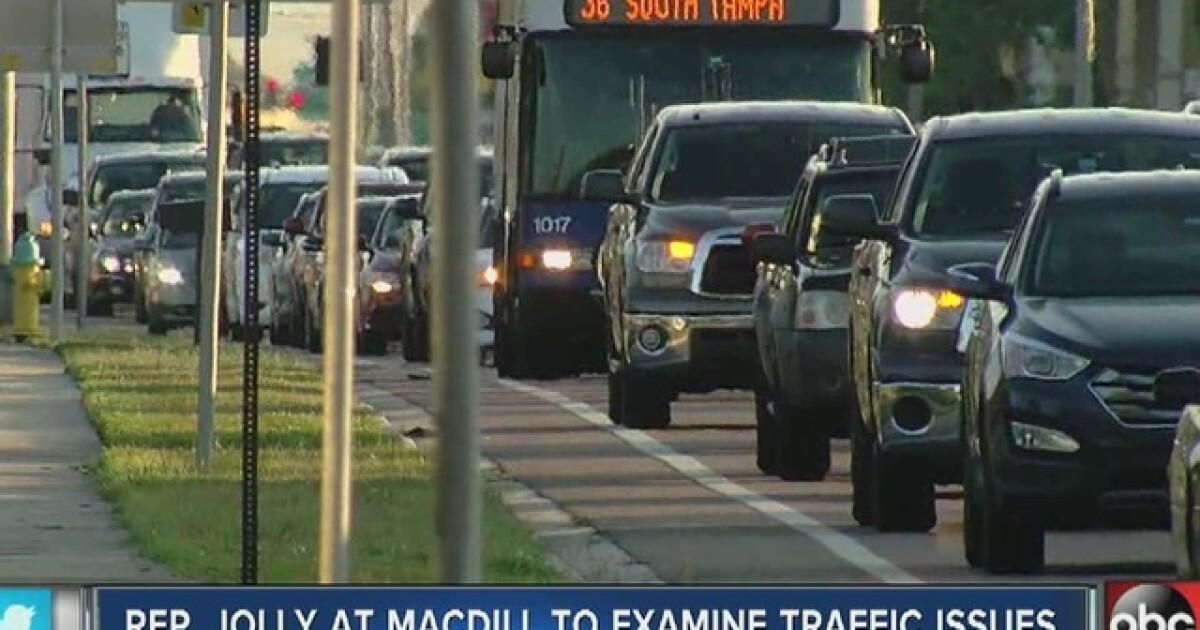 Lawmaker wants fix for MacDill traffic problems