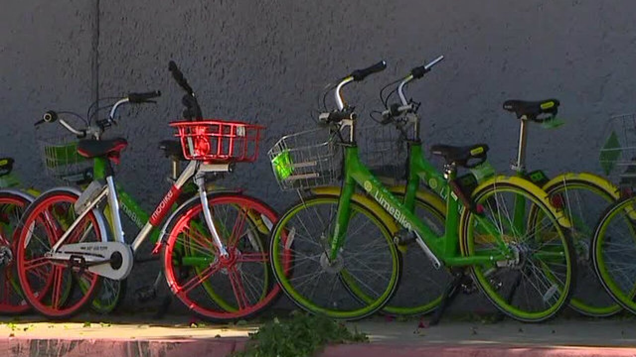 San Diego aims to address dockless bikes, scooters with mobility board
