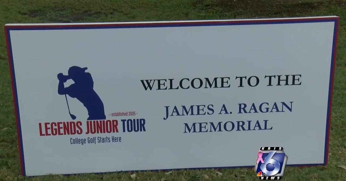 Young golfers help raise children cancer awareness