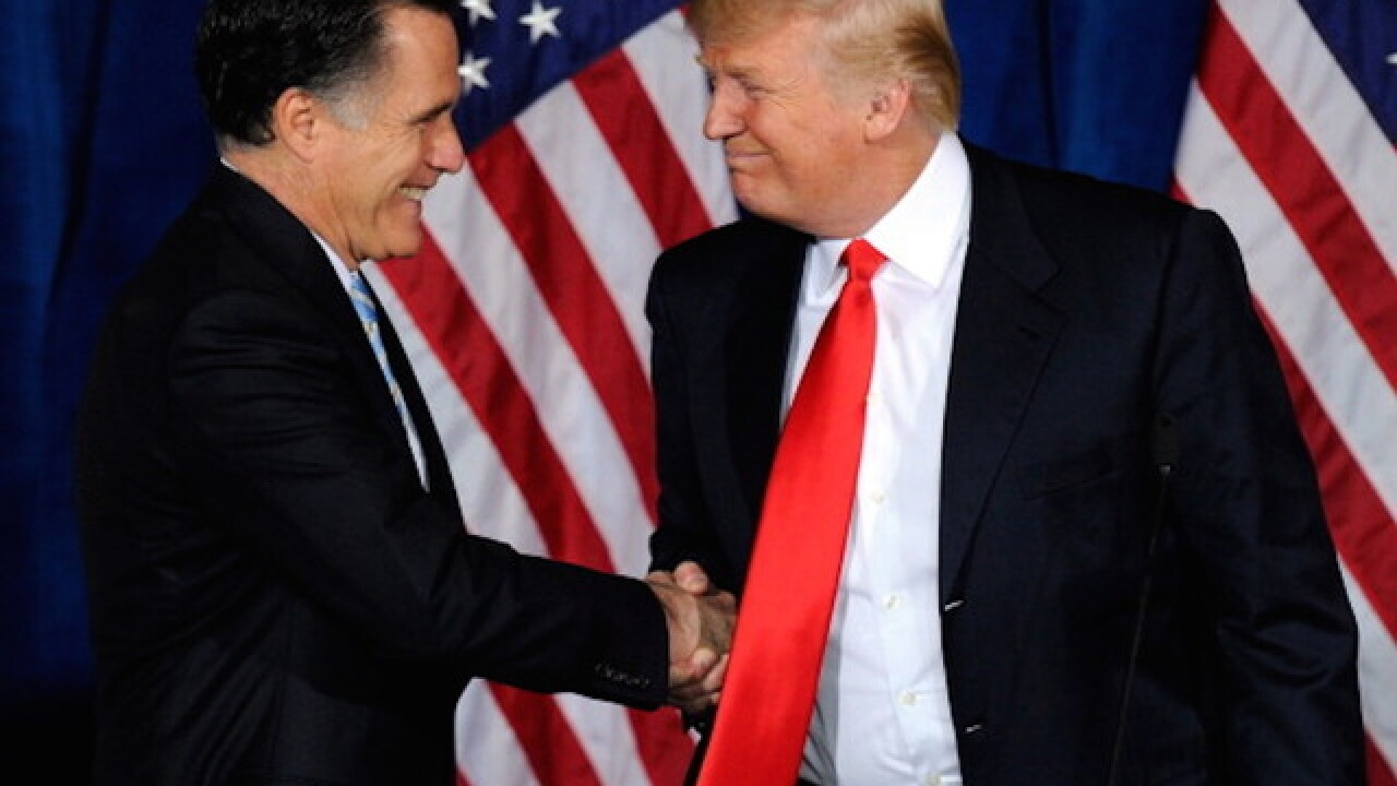 Trump says meeting with Romney went 'great'