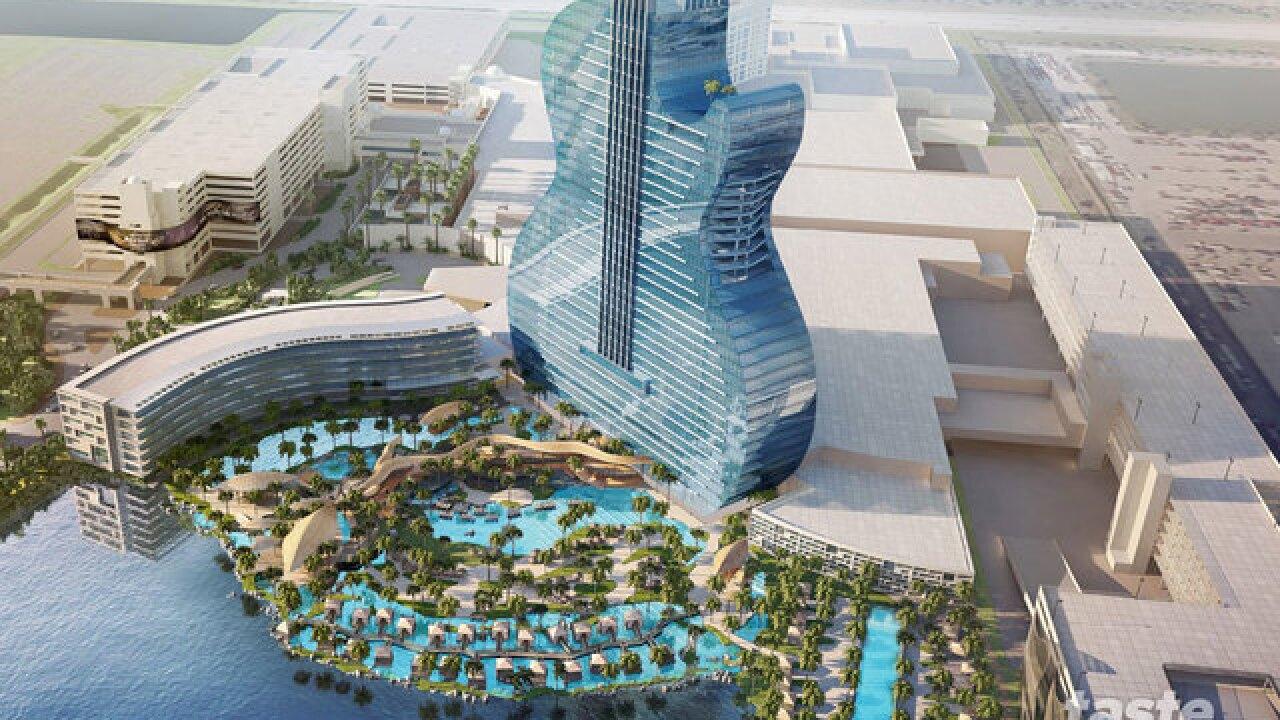 Seminole Hard Rock unveils guitar-shaped hotel